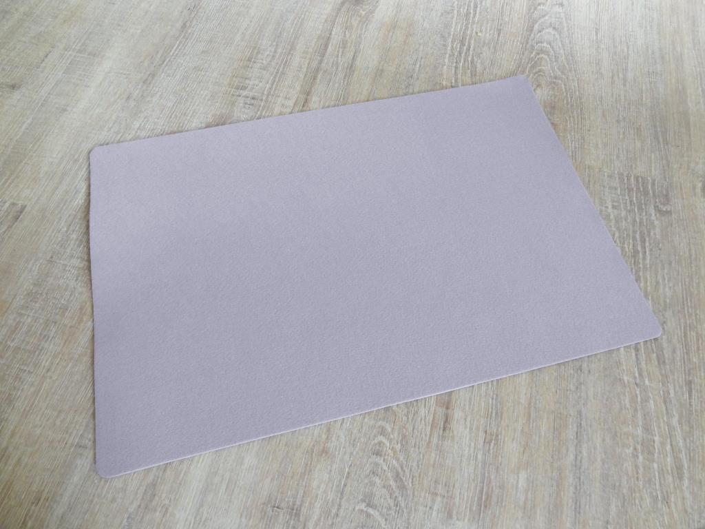 Platzset 30x45 cm im 8er Set mit Glasuntersetzer, Flieder
