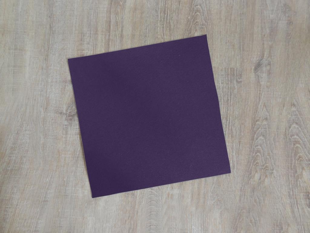 Platzset quadratisch 38x38 cm im 8er Set ohne Glasuntersetzer, Violett
