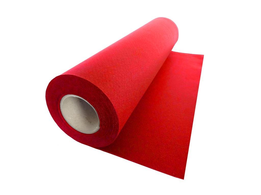 Handicraft Nonwovens, linear meter, red - 0.53 m