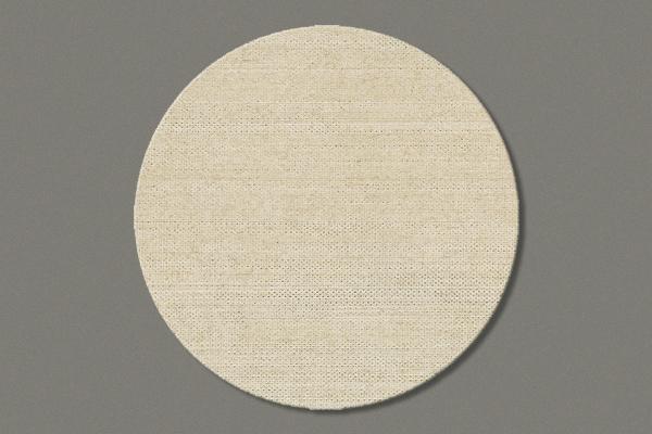"Flax Coaster ""Plain"", set of 12, diameter=10 cm"