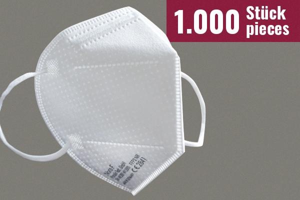 Nora F Schutzmasken mit FFP2-Zertifizierung - 1.000 Stück