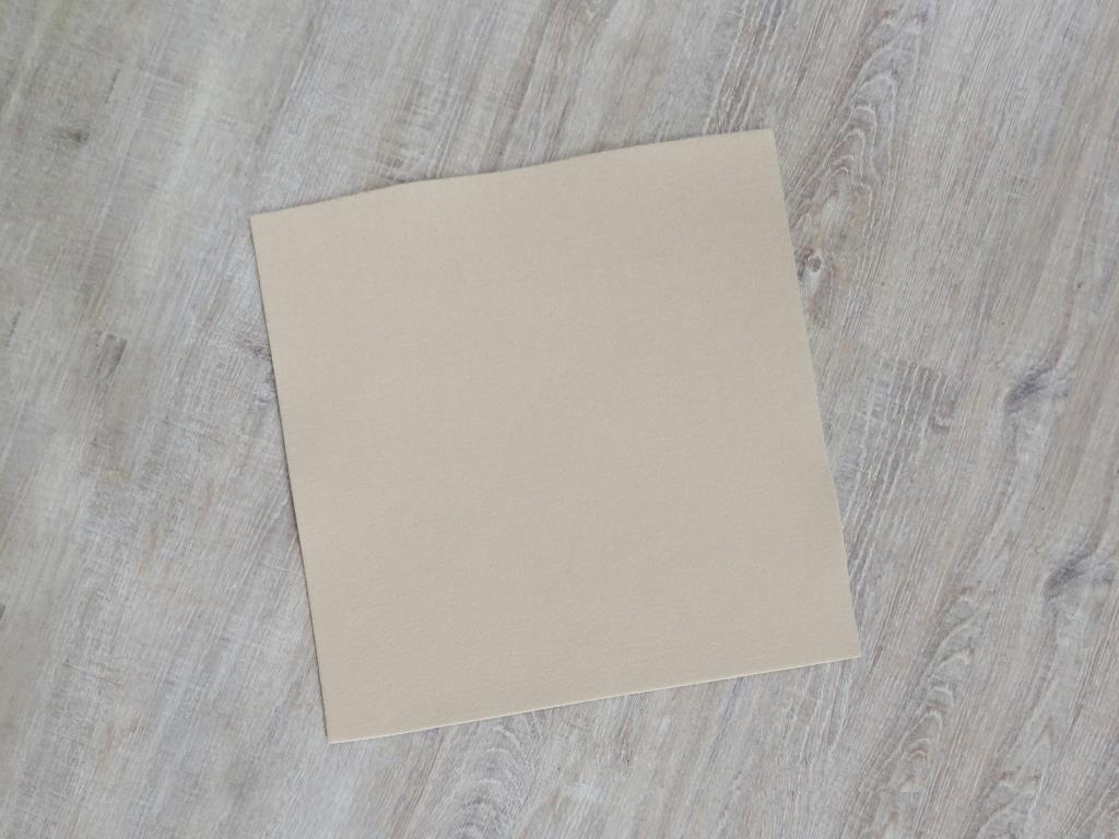 Platzset quadratisch 38x38 cm im 8er Set ohne Glasuntersetzer, Beige