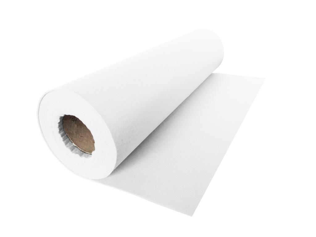 Handicraft Nonwovens, linear meter, white - 1.00 m
