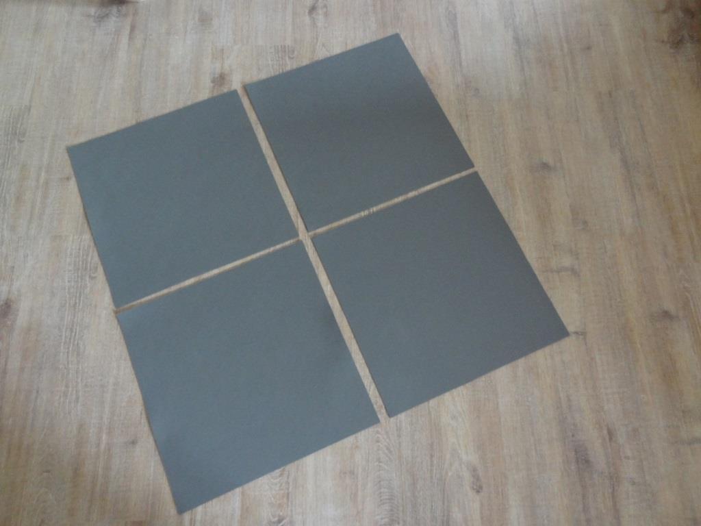 Platzset quadratisch 38x38 cm im 4er oder 8er Set
