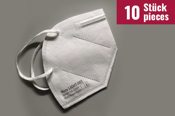 Mund-Nasen-Maske Nora LIGHT - 10 Stück