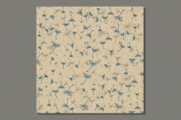 """Lunch Napkins  """"Dandelion rain"""" 33x33 cm, 25 pieces"""