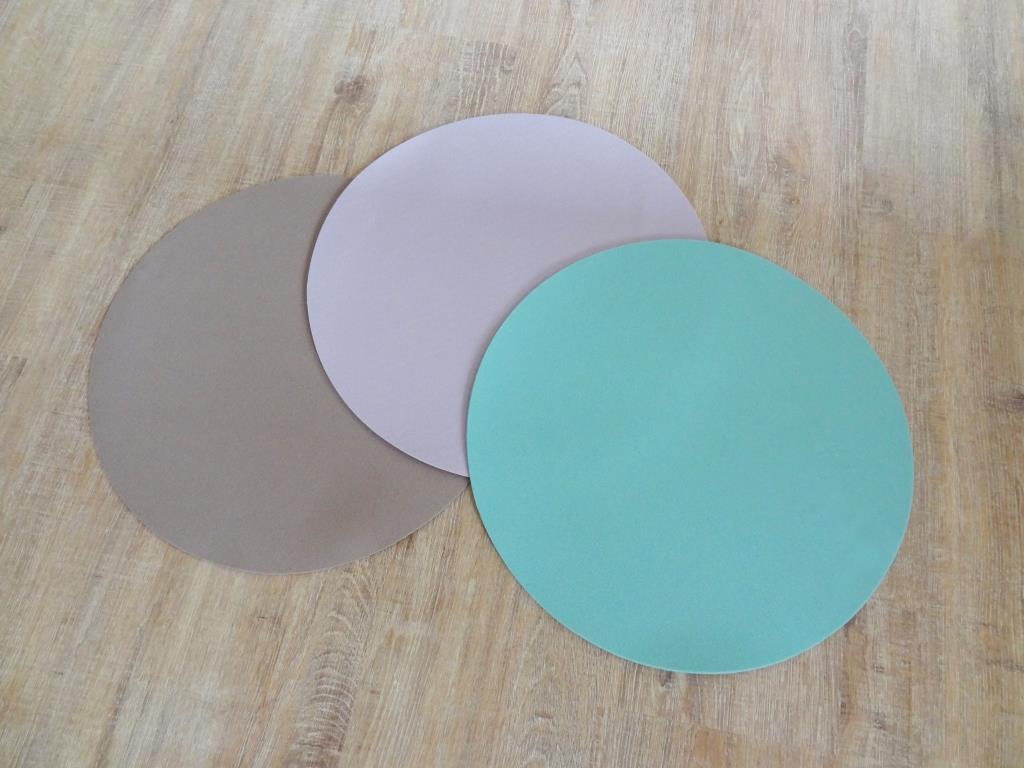 Platzset rund im 4er oder 8er Set, D=40 cm, verschiedene Farben