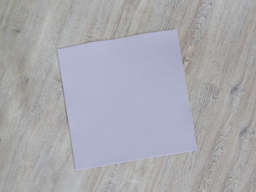 Platzset quadratisch 38x38 cm im 4er Set mit Glasuntersetzer, Flieder