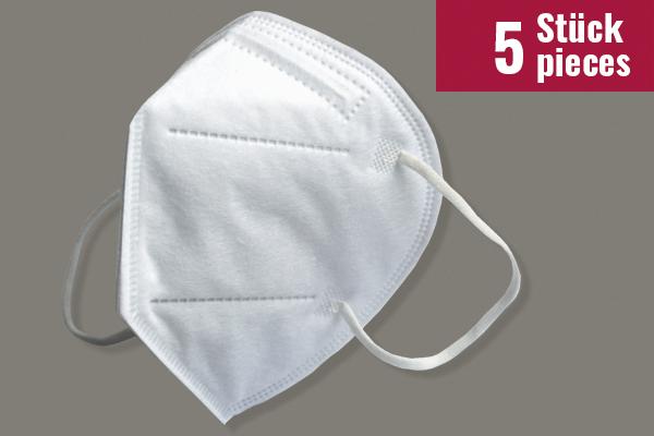 Nora F CPA Schutzmasken - 5 Stück