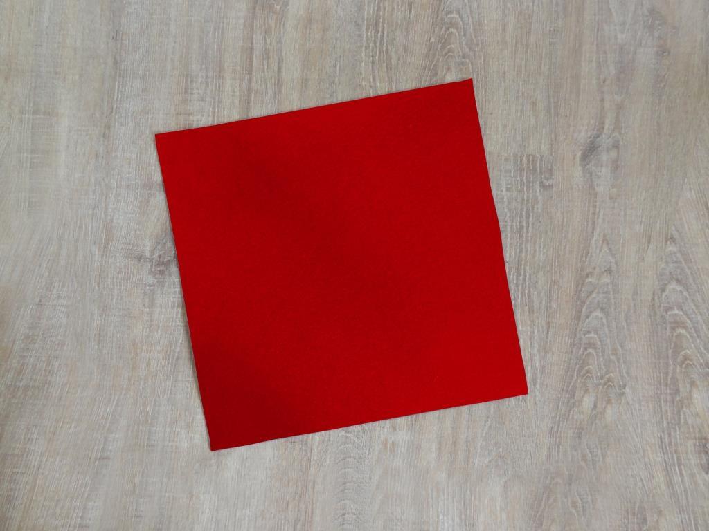 Platzset quadratisch 38x38 cm / Stück, verschiedene Farben