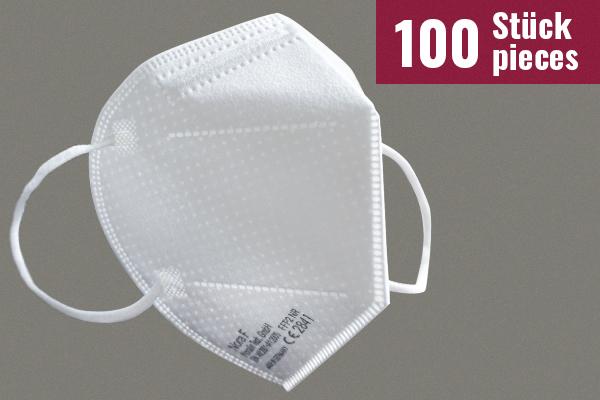 Nora F Schutzmasken mit FFP2-Zertifizierung - 100 Stück