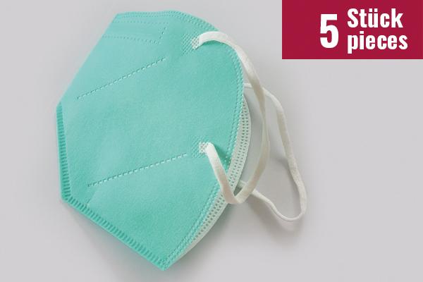 Mund-Nasen-Maske Nora LIGHT Design - 5 Stück