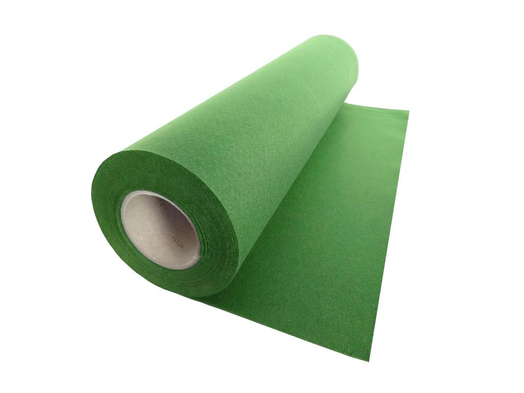 Handicraft Nonwovens, linear meter, green - 0.53 m